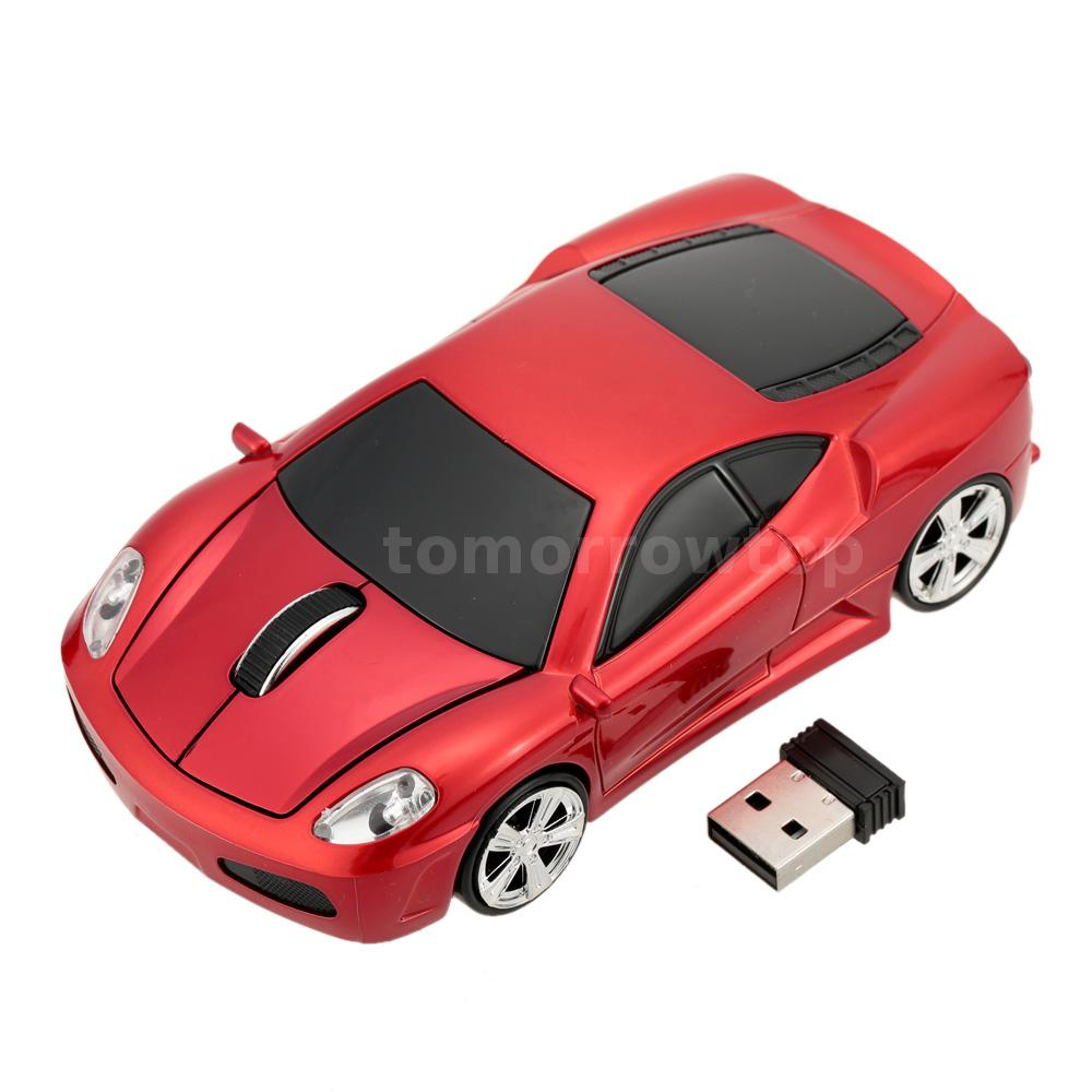1000dpi 2 4g usb car shaped wireless mouse mice 3d optical. Black Bedroom Furniture Sets. Home Design Ideas