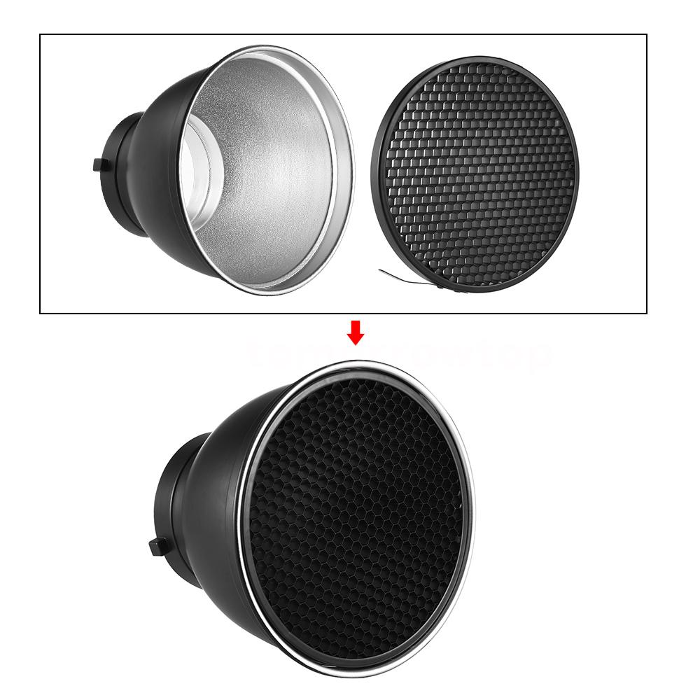 50/° Honeycomb Grid Mesh for 7-inch Standard Reflector Diffuser Lamp Shade Speedlite Flash Strobe