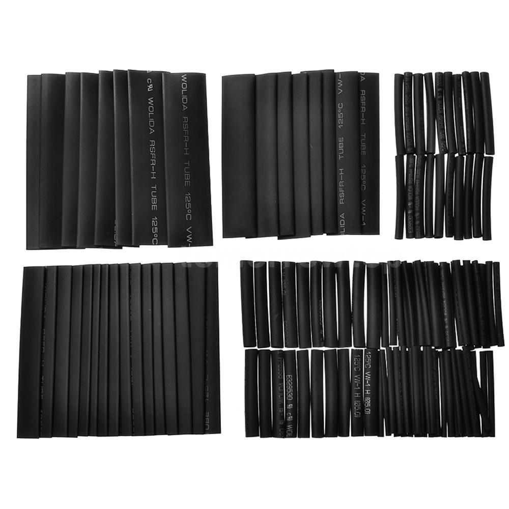 Business & Industrial 127pcs Assorted Heat Shrink Tube Wire Wrap Electrical Insulation Sleeving Kit