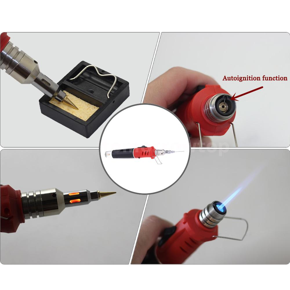 10 in 1 butane gas soldering iron set welding kit tool torch hs 1115k 26ml tool auctions buy. Black Bedroom Furniture Sets. Home Design Ideas