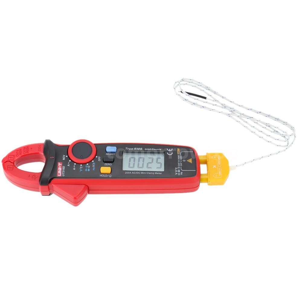 Voltage Clamp Meter : Uni t ut d digital clamp meter ac dc current voltage