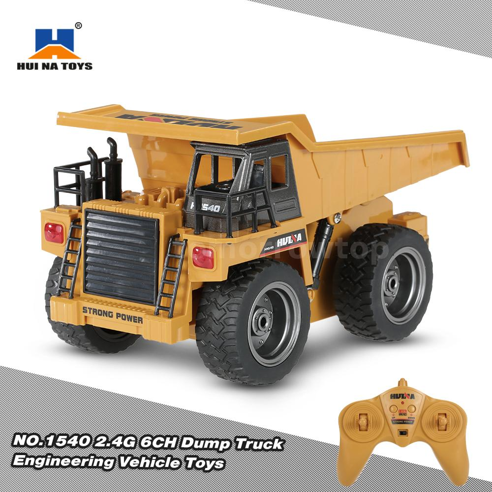 Dump Truck Control : Top sell hui na toys no g ch alloy dump remote