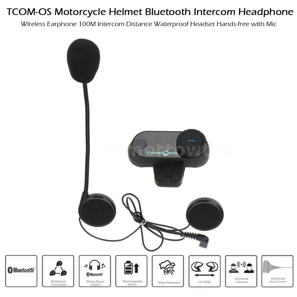 motorcycle interphone bluetooth motorbike helmet intercom headset freedconn q5z4 ebay. Black Bedroom Furniture Sets. Home Design Ideas