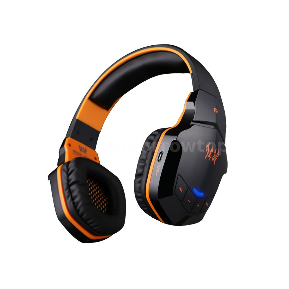 wireless bluetooth gaming headset headphone w mic for. Black Bedroom Furniture Sets. Home Design Ideas
