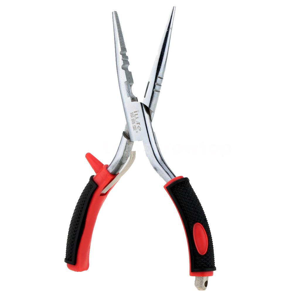 High quality fishing pliers tackle lure hook remover line for Best fishing pliers